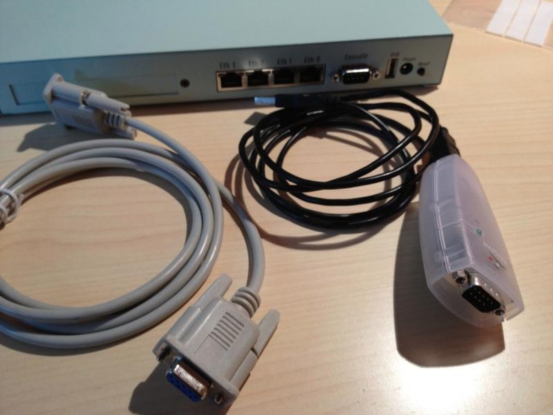Cavo seriale e USB adapter